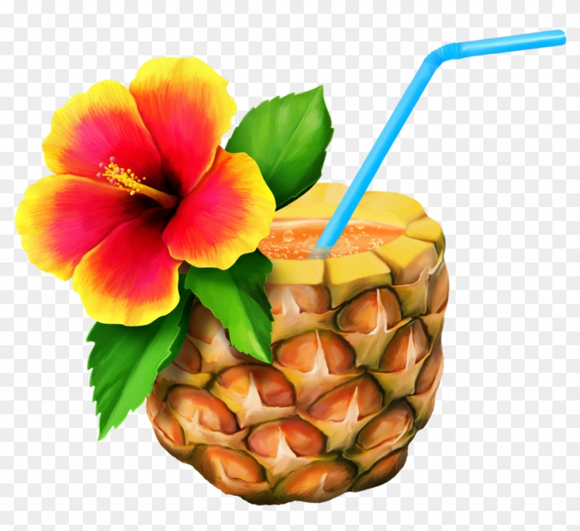 Cuisine Of Hawaii Hawaiian Clip Art - Hawaiian Pineapple Png #34769