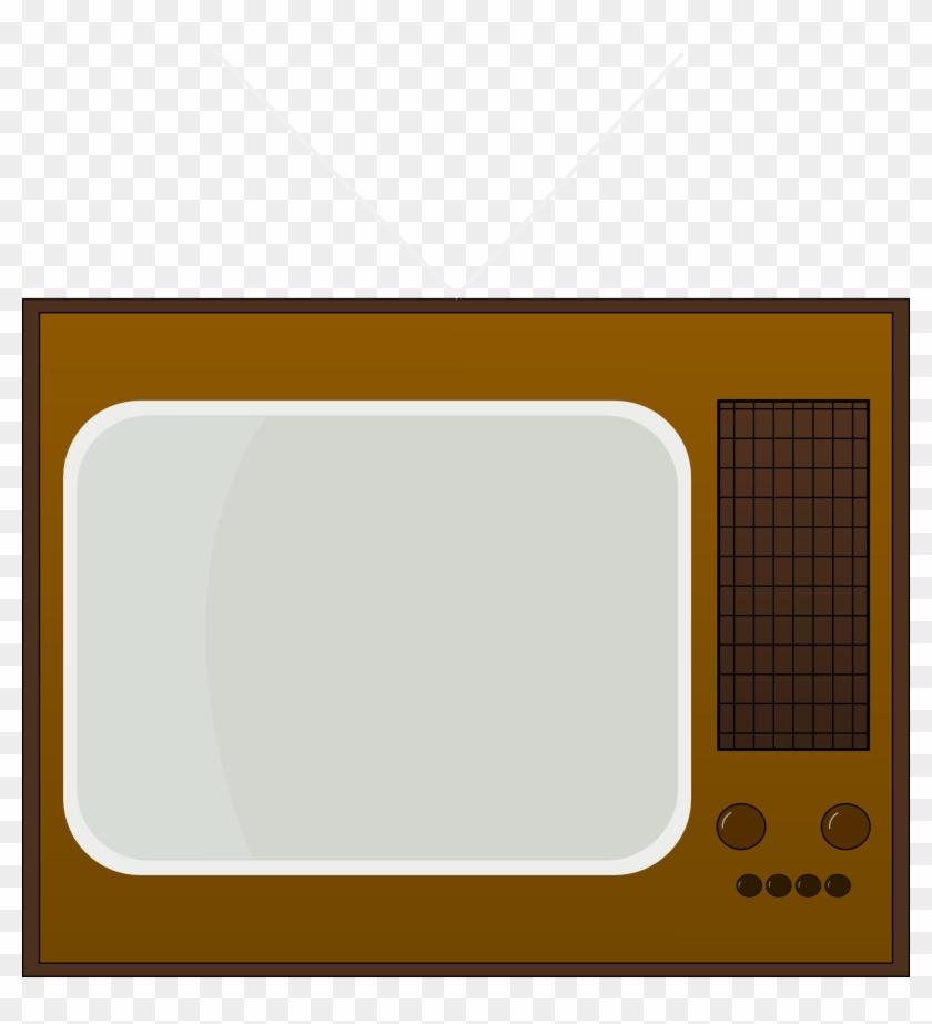 Free Retro Television Clip Art - Retro Tv Clipart #34771