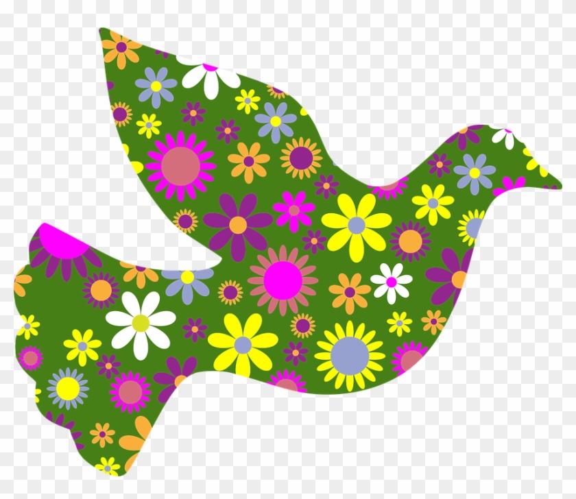 Retro Floral Flowers Decorative Ornamental Art - Imagenes De Flores Decorativas #34779