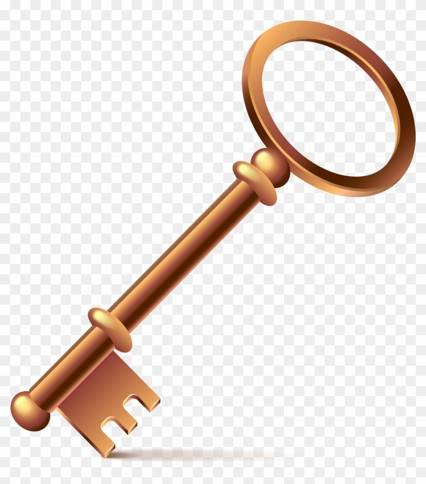 Euclidean Vector Key Clip Art - Euclidean Vector Key Clip Art #34799