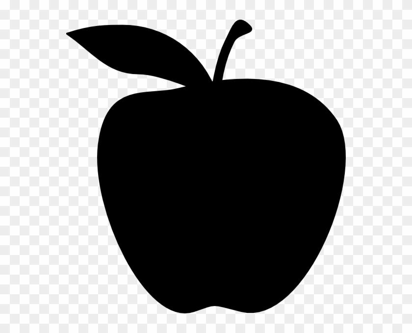Shadow Image Of Apple #34784