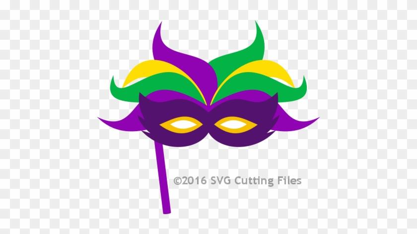 Pp Mardigrasmask - Mardi Gras Mask Clip Art #34833