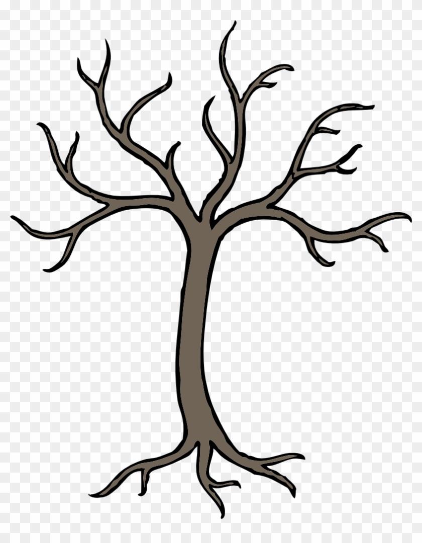 Barren Tree - Bare Tree Clip Art #34886
