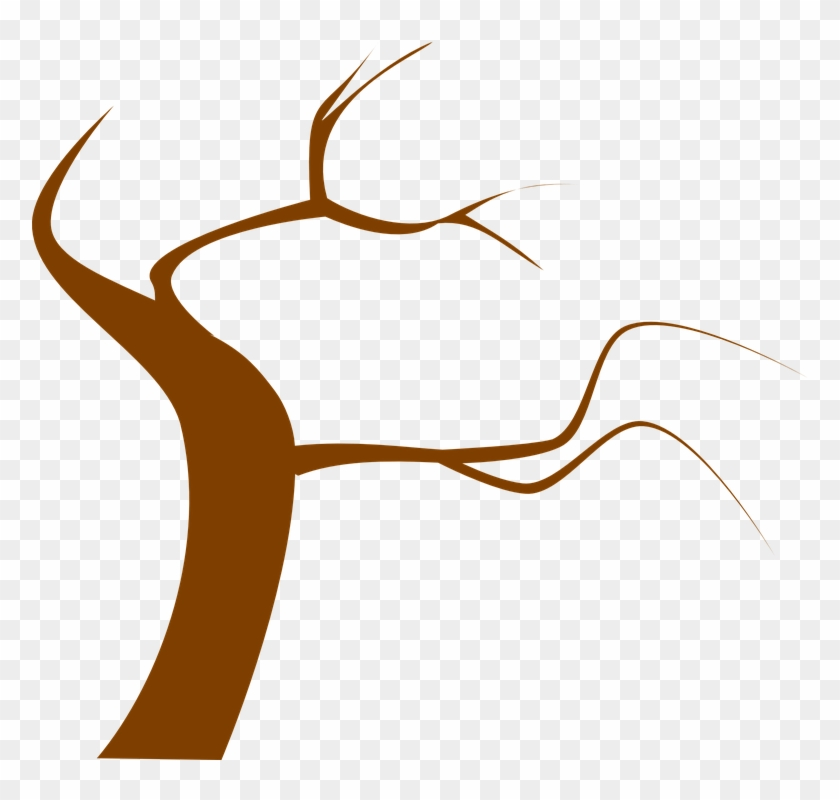 Tree Brown Branch Twig Twisty - Dead Tree Clip Art #34891