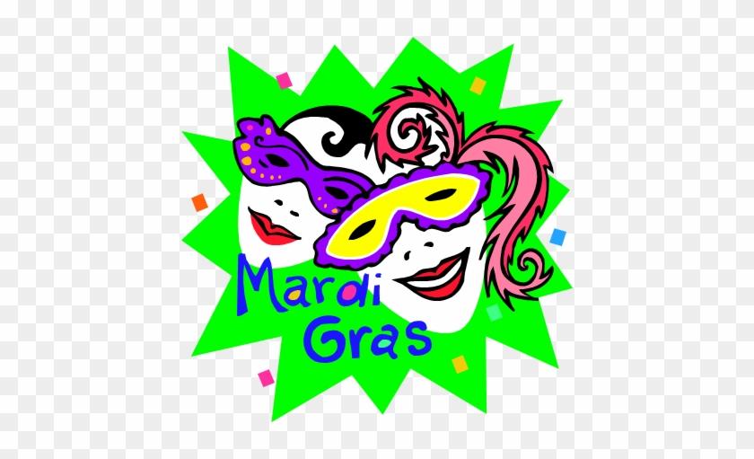 Mardi Gras Mini Book - Mardi Gras #34898