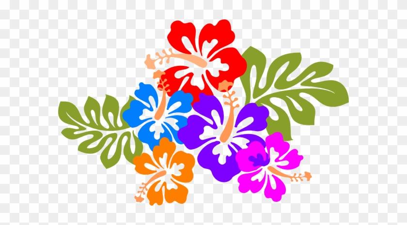 Hawaiian Flower Hawaiian Clipart 6 Hawaii Flower Hibiscus - Hawaiian Luau Clip Art #34922