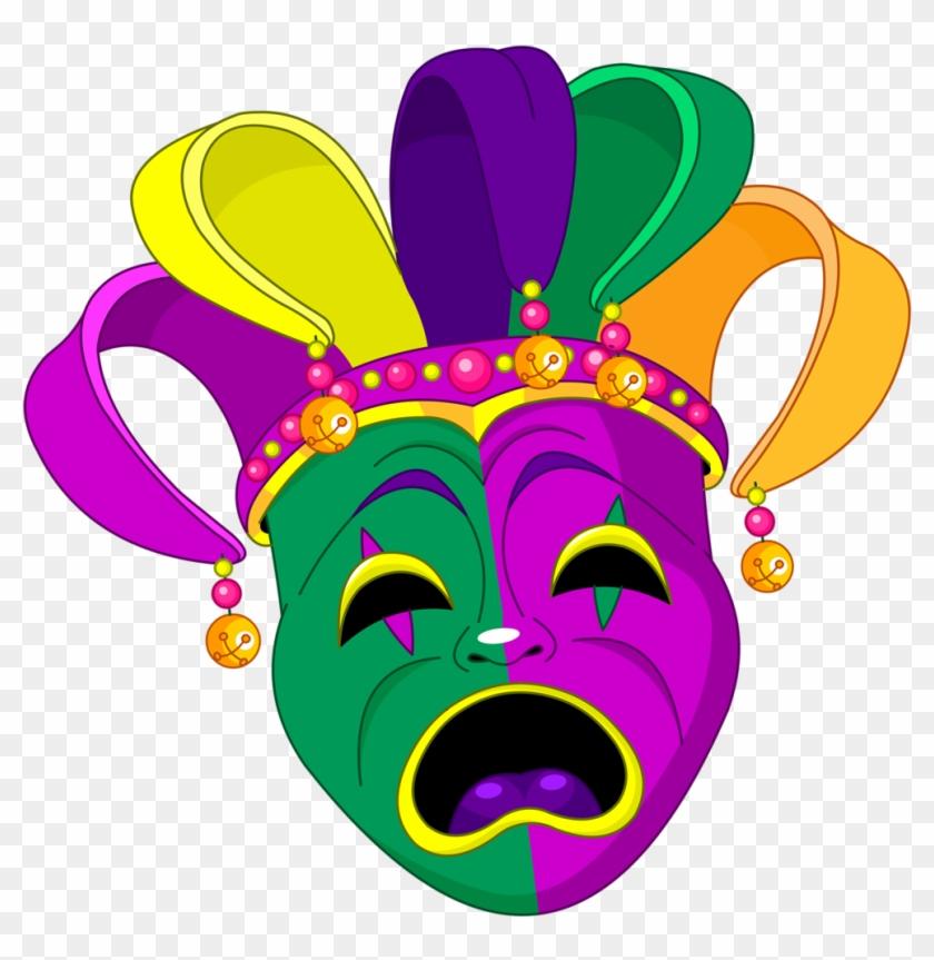 Mardi Grascarnivalclip Art - Mardi Gras Clip Art Free #34966