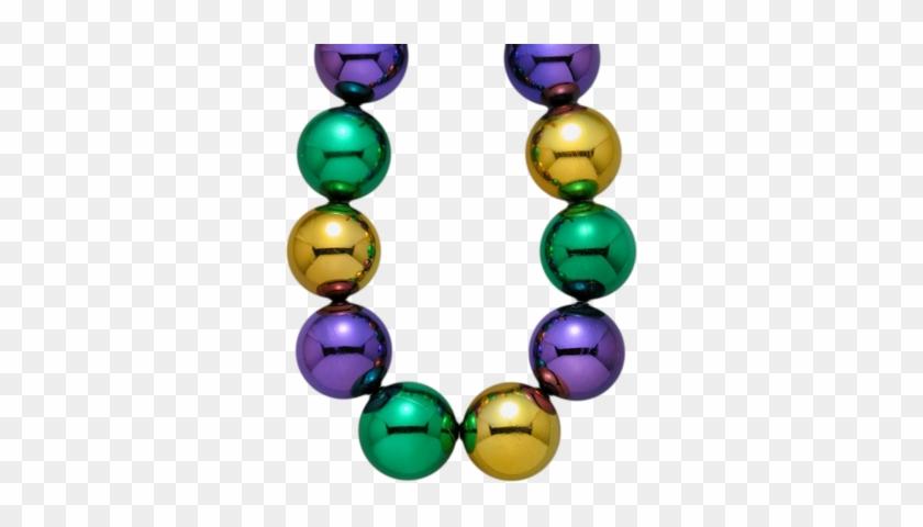 Mardi Gras Beads Clip Art - Transparent Mardi Gras Beads #34970