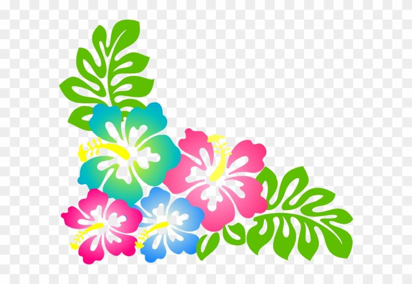 Elower Clipart Gumamela - Hibiscus Clip Art #34984