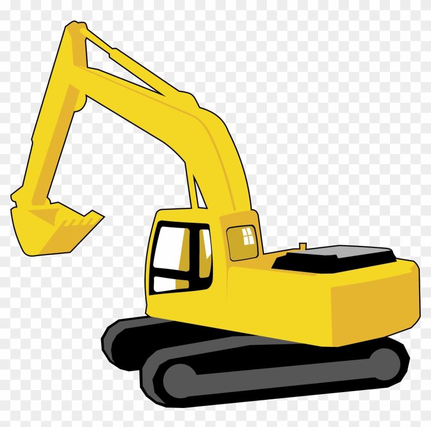 Excavator Graphic Arts Clip Art - Excavator Clipart #35051