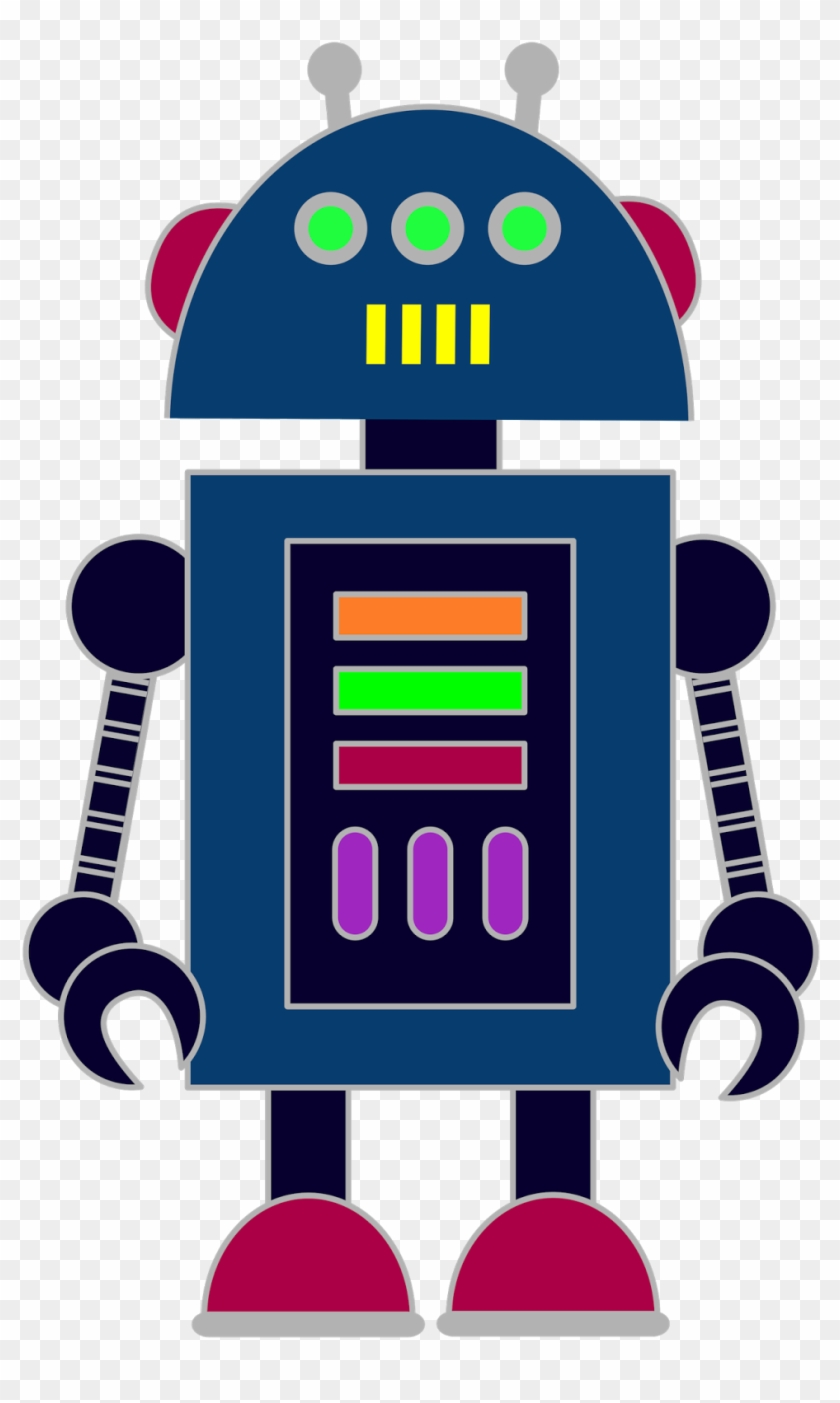 Robot Clipart A Selection Of Robots To Use In Your - Clip Art Of Robots #35108