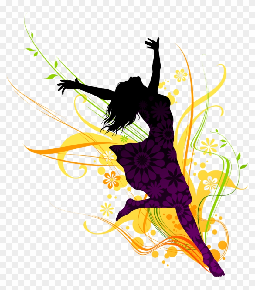 Dance Girl Png Clipart - Solo Dance Png #35134