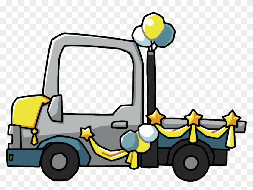 Mardi Gras Clipart - Float Parade Clip Art #35163