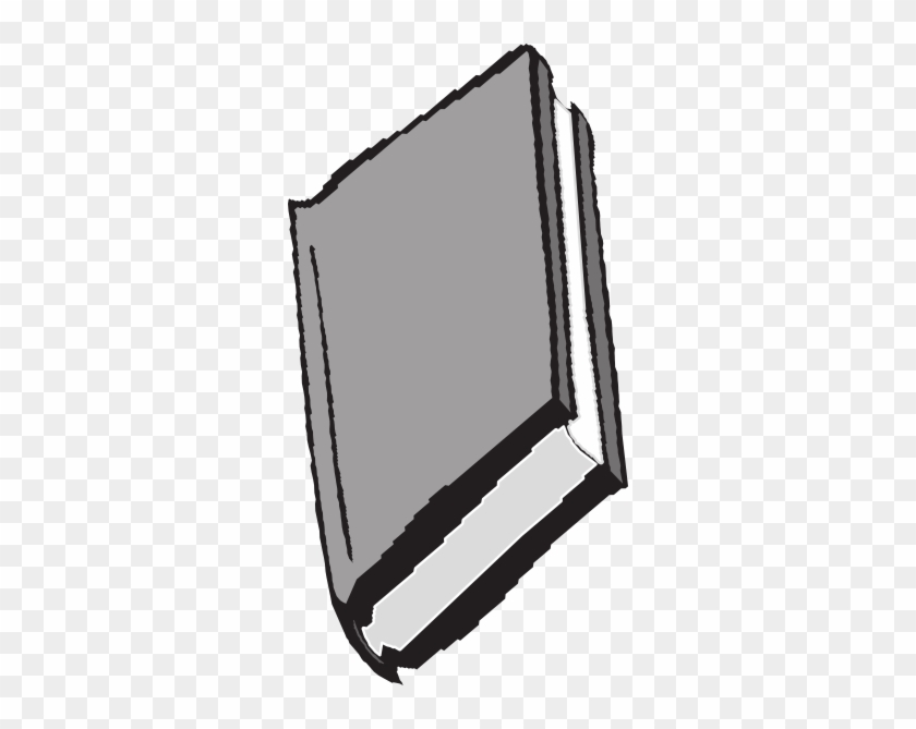 Book Clip Art At Clker Com Vector Online Royalty Free - Grey Book Clipart #35193