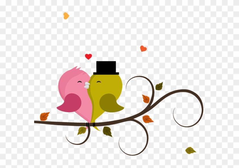 Love Birds Clipart Image - Love Birds Cartoons #35220