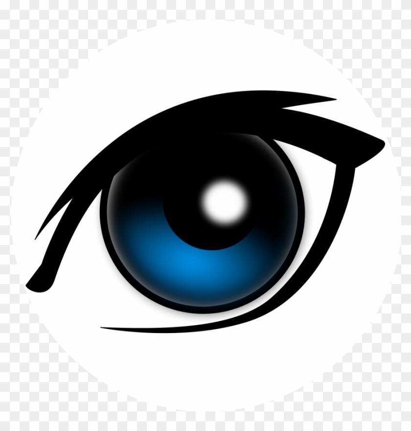Cartoon Eyes Clipart - Cartoon Eye #35254