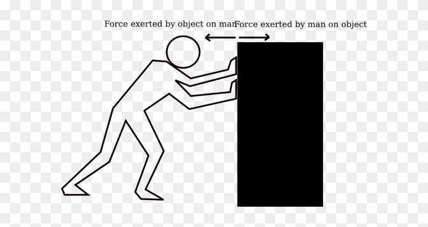 Newton's First Law Clip Art #35287