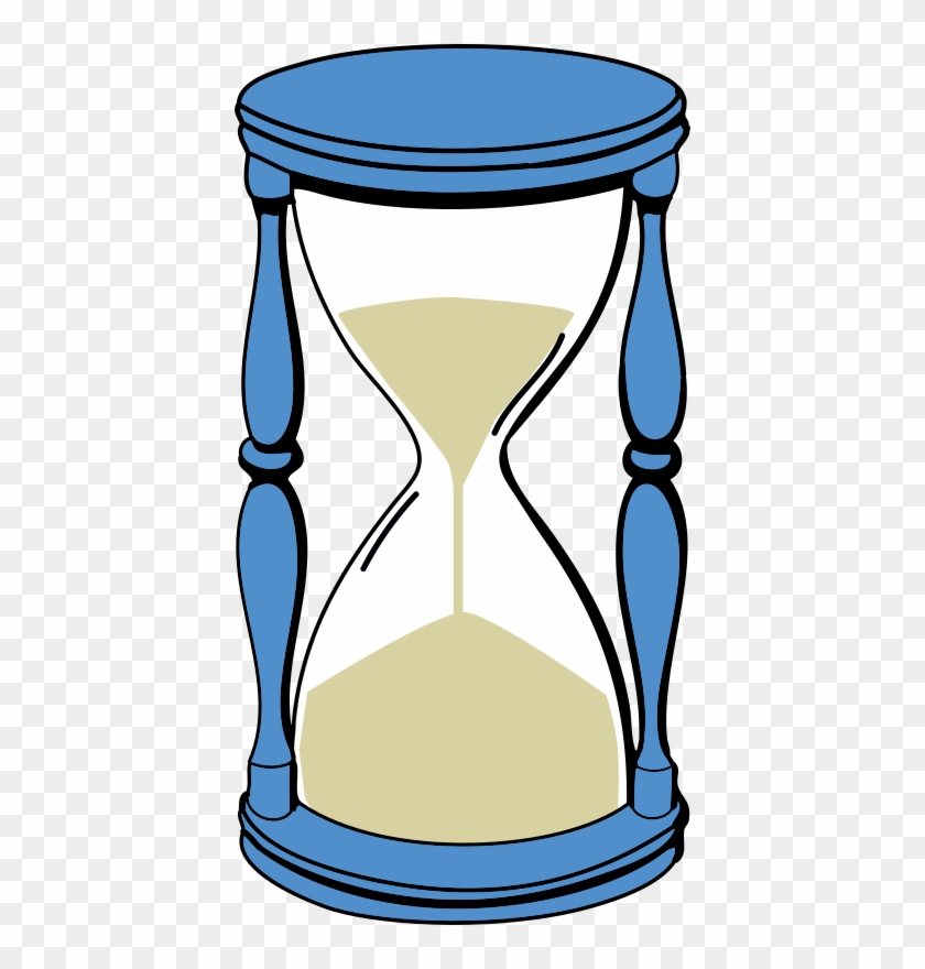Hourglass With Sand Clip Art - Sand Timer Clipart #35293