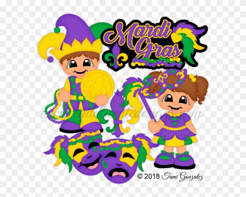 Mardi Gras Cuties - Mardi Gras #35404