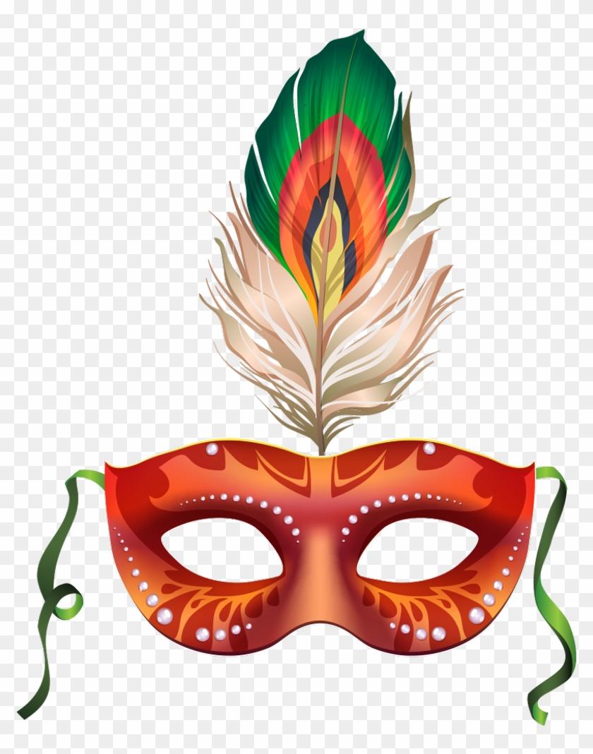 Antifaz Mask Carnaval Carnival Fiesta Party - Folia Vetor #35437