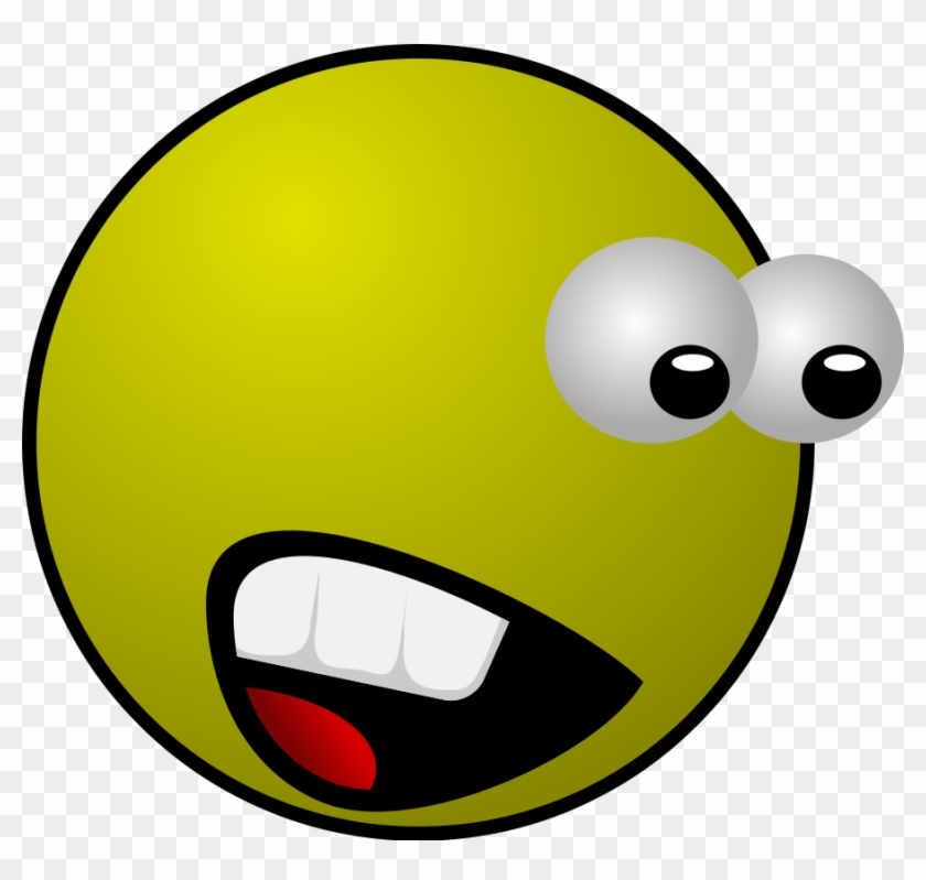Motion Clip Art Download - Scared Face Animation #35476