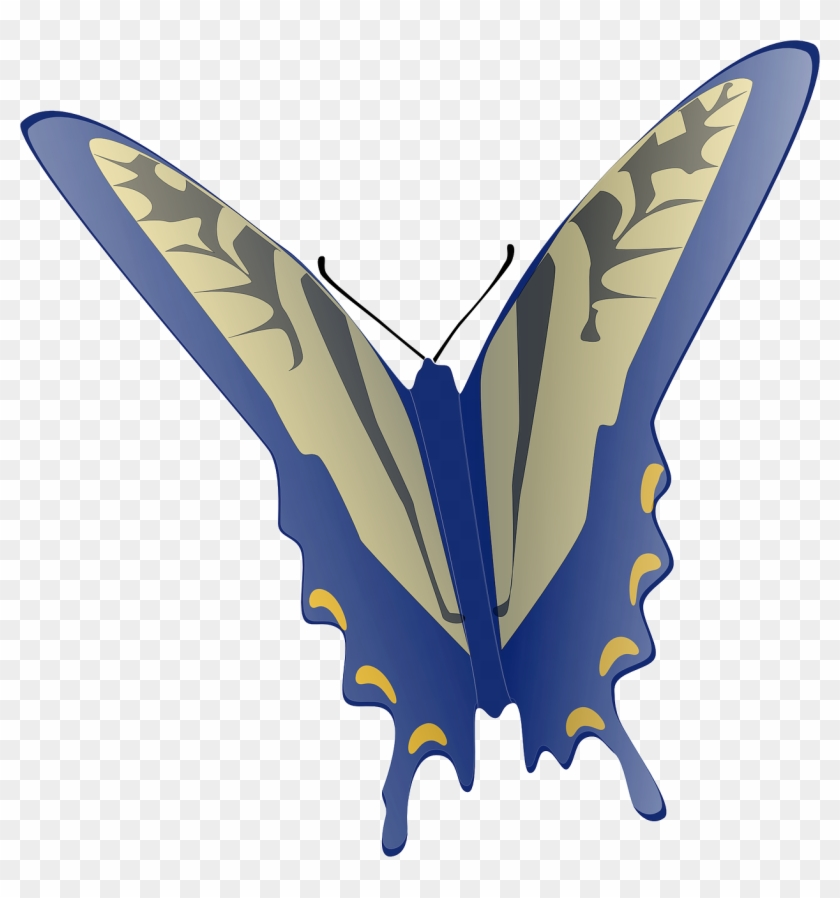 Butterfly Clip Art At Clker - Animated Flying Butterfly Gif #35520