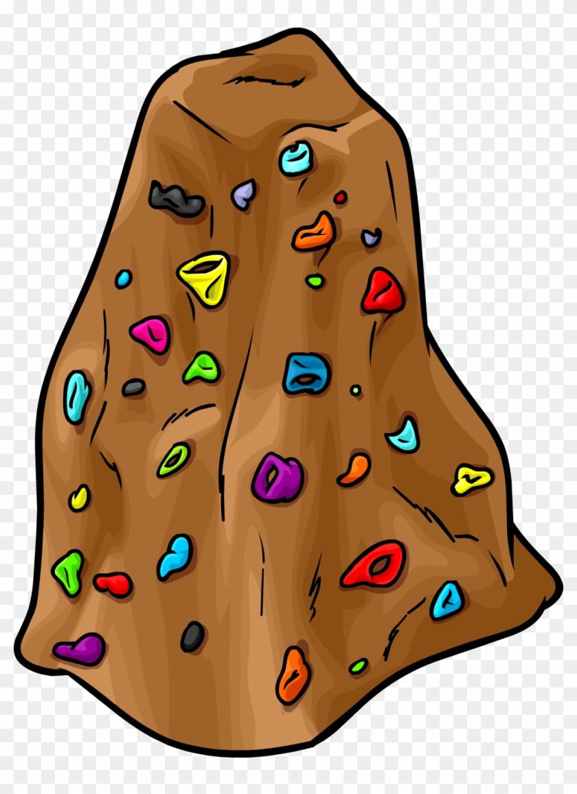 Climbing Wall - Rock Climbing Wall Clipart #35548