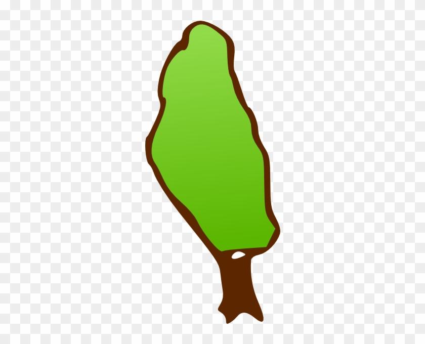Tall Skinny Tree Clip Art - Clipart Skinny Tree #35588