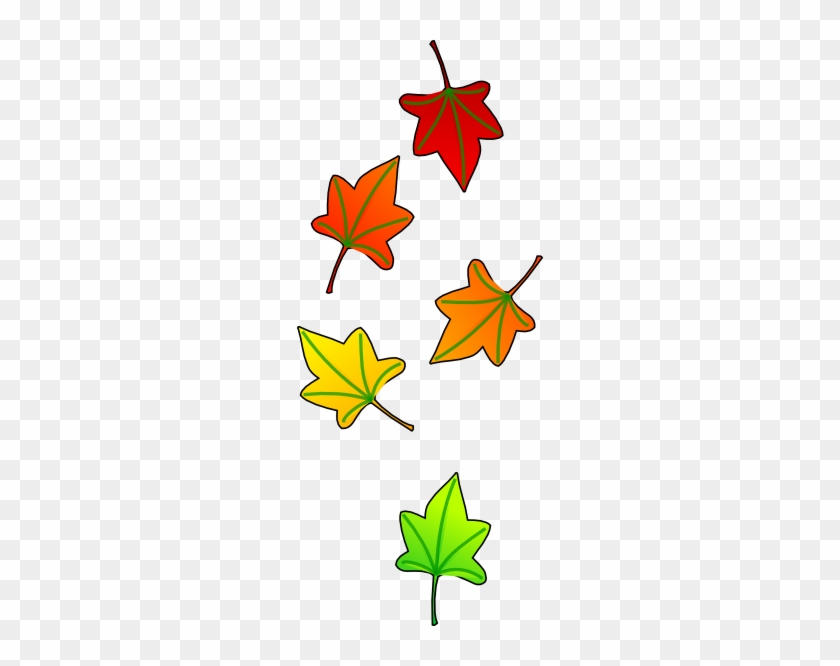 Leaves Falling Clip Art - Clip Art #35593