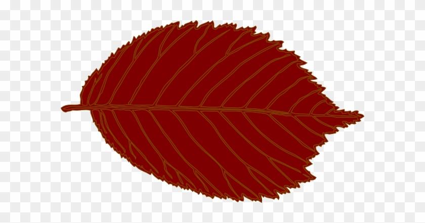Brown Leaf Clip Art #35657