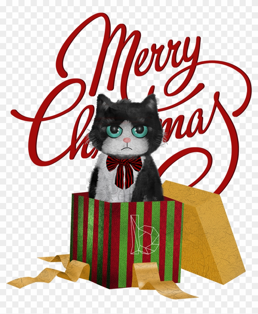 Grumpy Cat Thank You Clip Art Queenie 4 Pcs Christmas Series Ii Embroidered Cotton Free Transparent Png Clipart Images Download