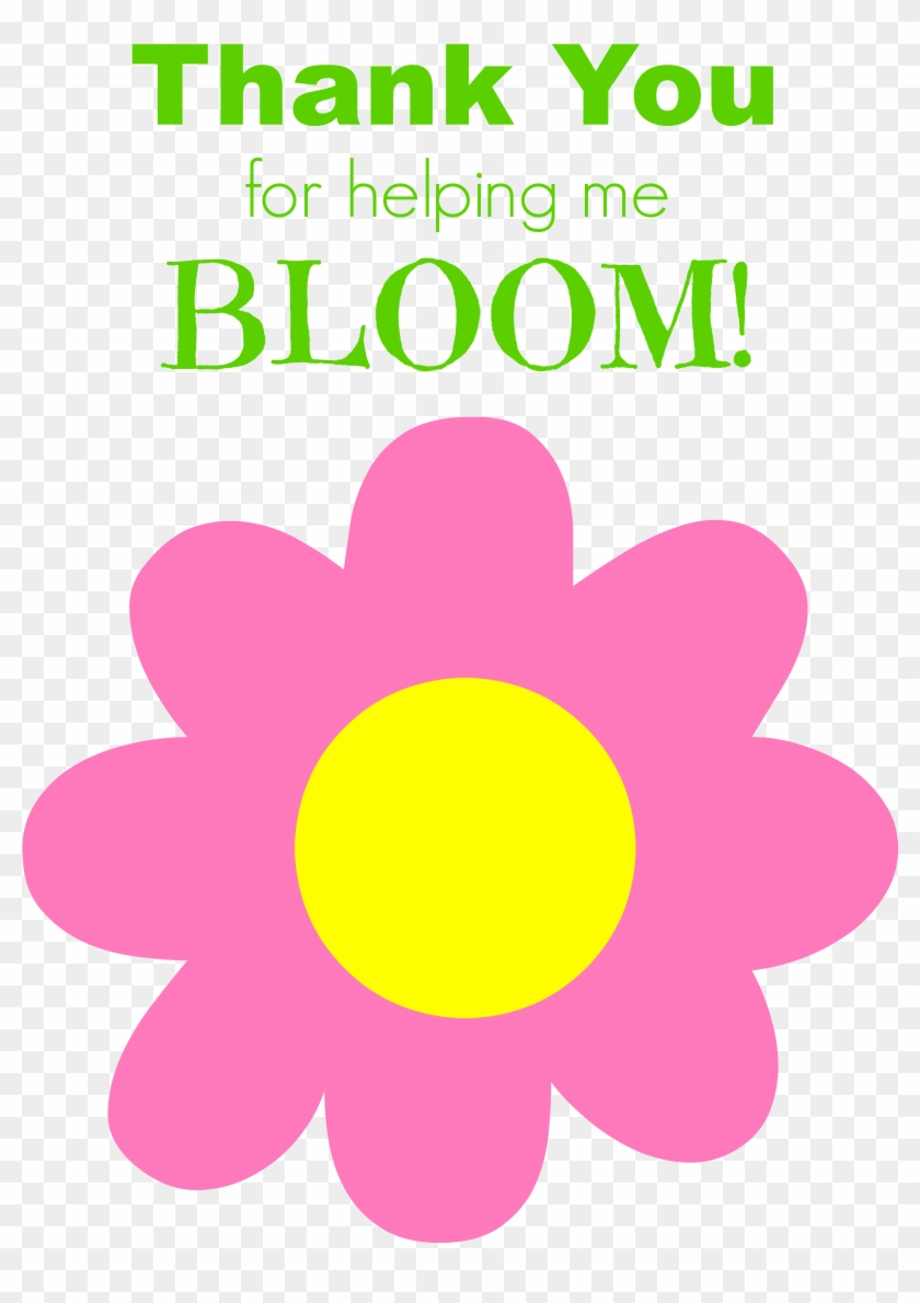 Eos Lip Balm Thank You Free Printable - Thank You For Helping Me Bloom Printable #204075