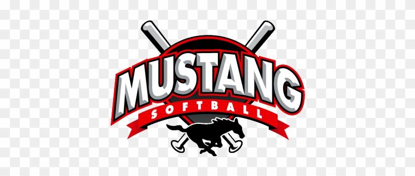 Welcome Mustang Softball Registration For Spring - Mustang Softball Logo #204095