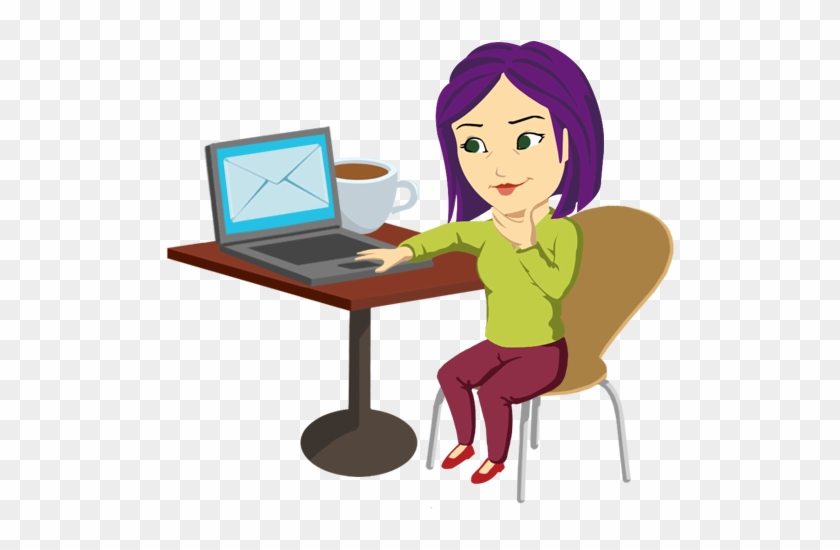 Creating An Email Is As Easy As 1, 2, - Send An Email Clipart #204388