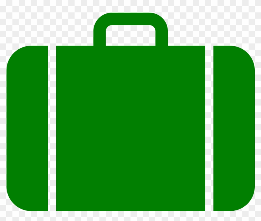 Suitcase Icon Green - Work Experience Icon Grey #204620