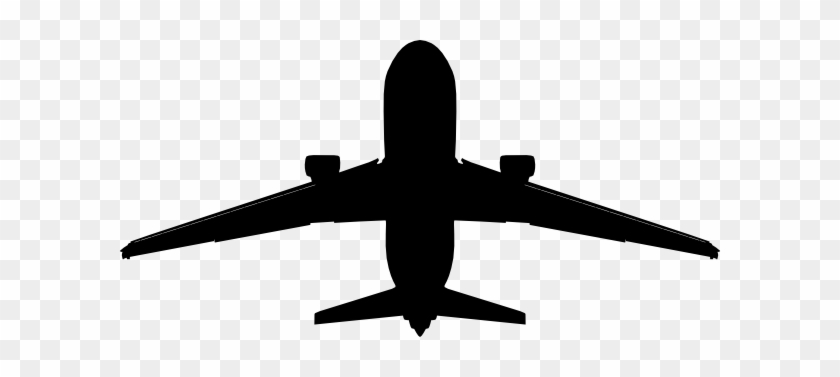 Airplane Clipart Black And White Plane Vector Png Free
