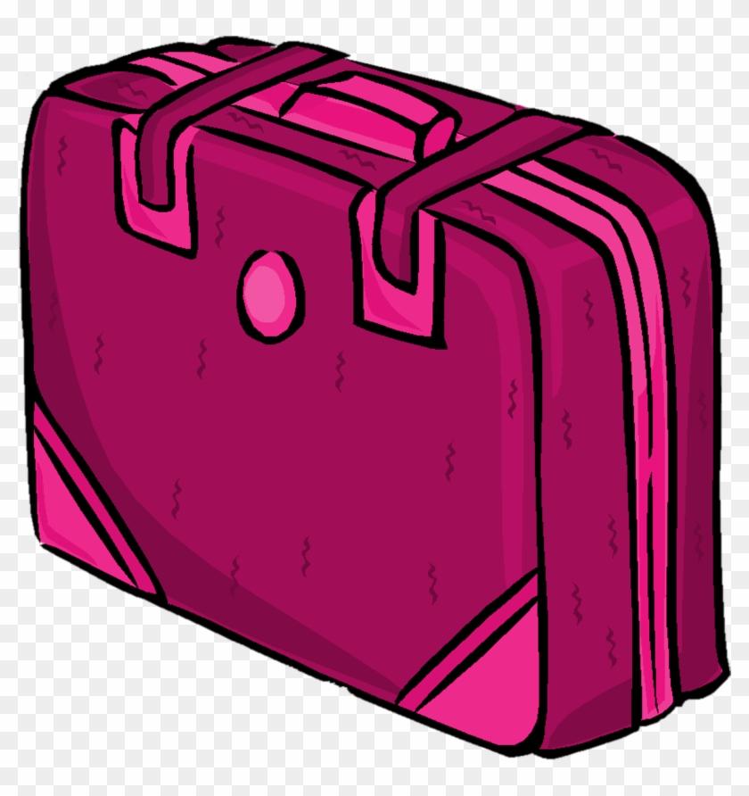 Suitcase Clipart Pink Suitcase - Mala De Viagem Rosa Png #204729