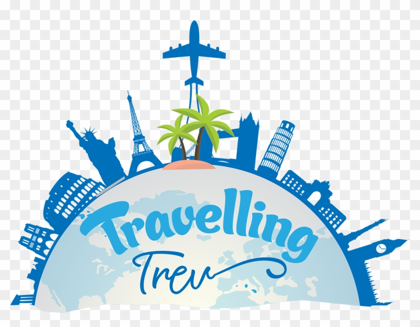 Welcome To Travelling Trev World Travel Symbols Png Free