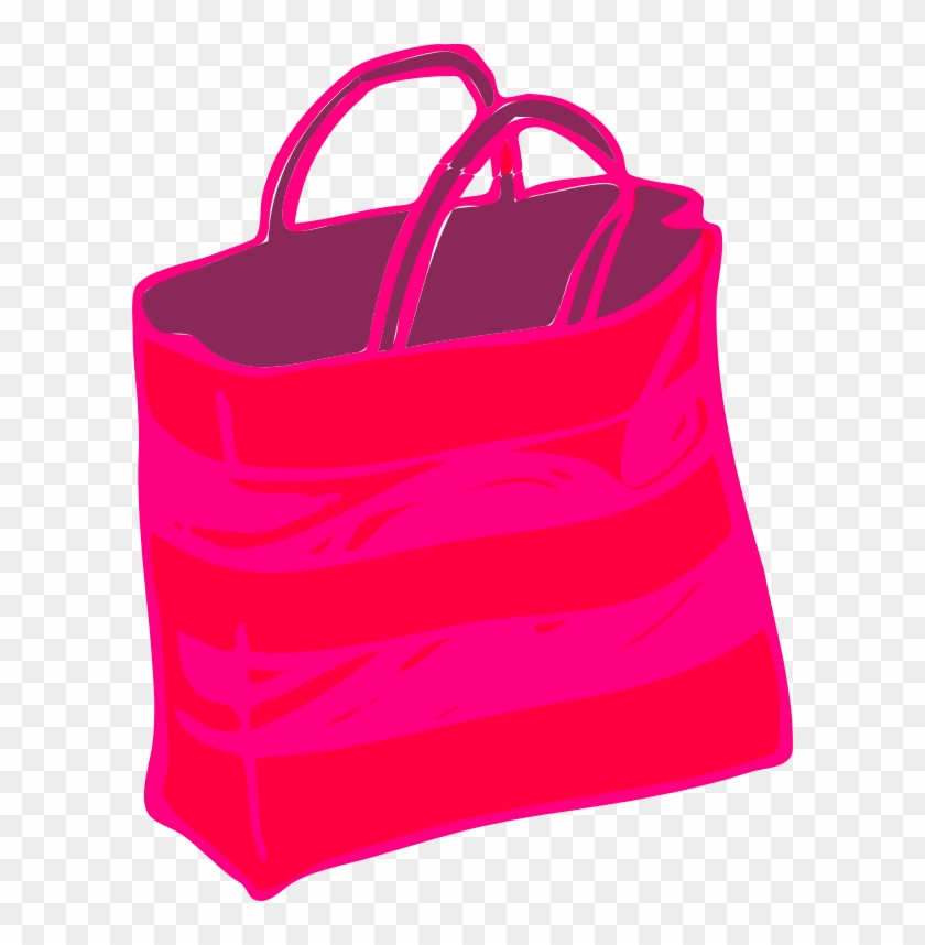 Ping Bags Pink Bag Clipart Transpa Background 204806