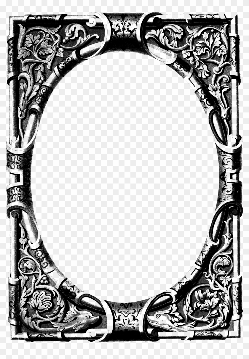 Free Vintage Image Ornate Frame - Vintage Ornate Frame #204858