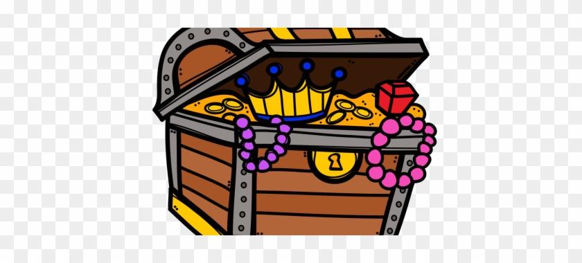 Chest Clipart Open Treasure - Treasure Chest Clipart #204911
