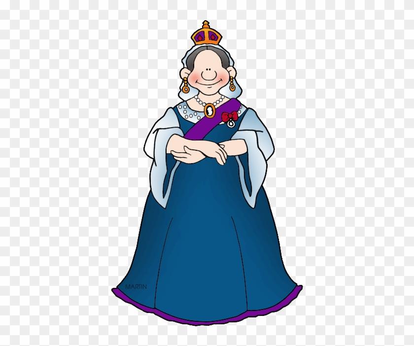 Queen Victoria - Philip Martin Clipart Queen #204996