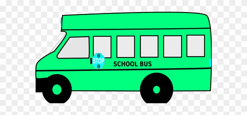 Pink Clipart School Bus - School Bus Clip Art #205028