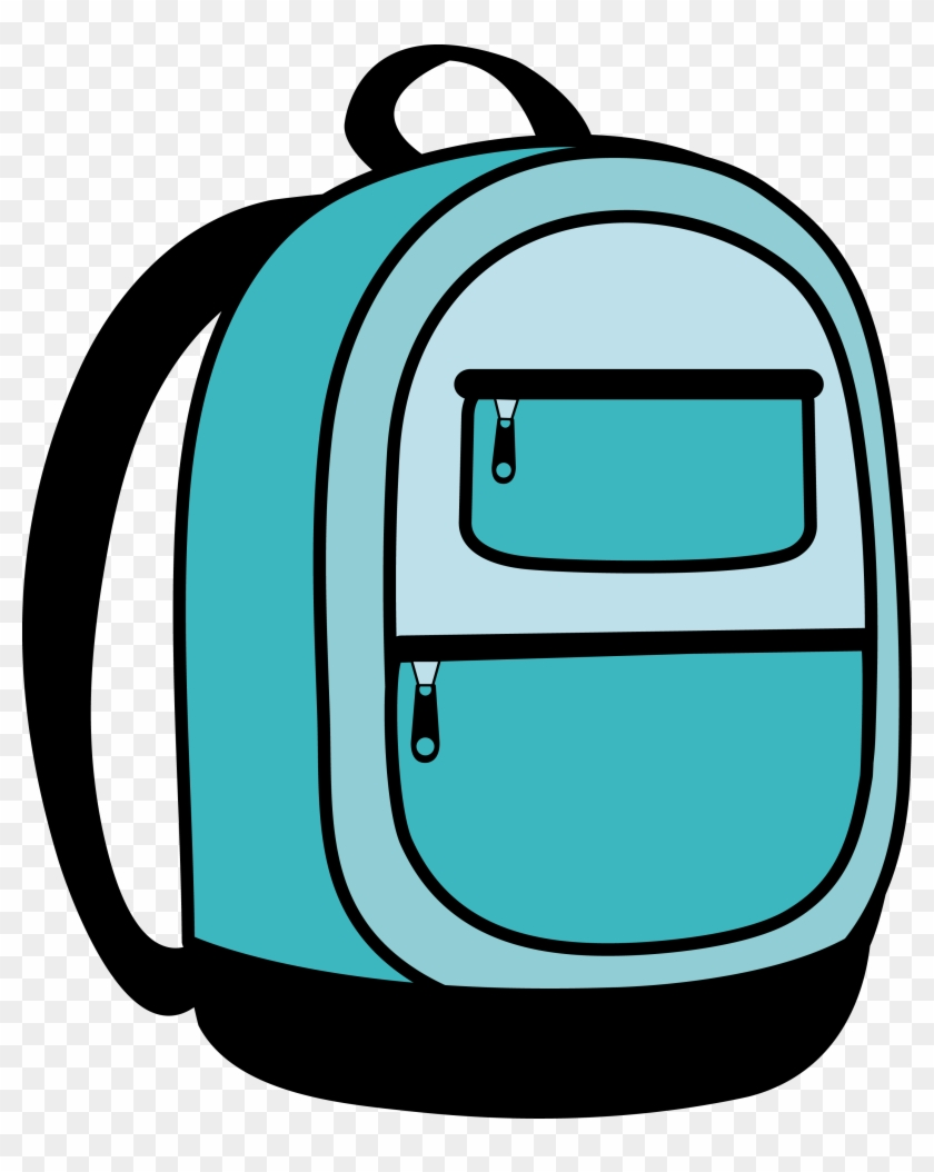 School Backpack Clipart Free Clipart Images - Clip Art Backpack #205114