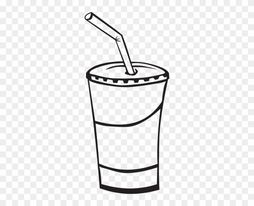 369ra - Soda Cup - Drink Black And White #205319