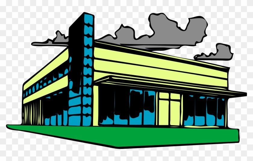 Commercial Real Estate Clip Art At Clker - Commercial Real Estate Clip Art #205371