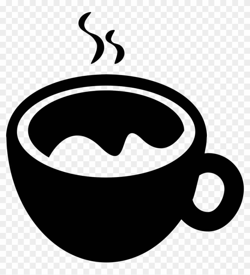 Hot Coffee Cup Comments - Coffee Cup Icon In Png #205446