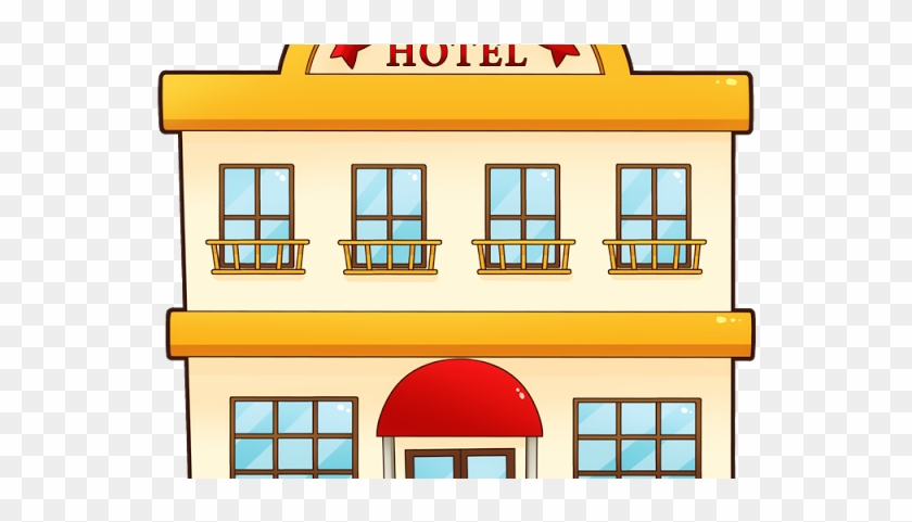 Hotel Clipart Transparent Building - Hotel Clipart #205441
