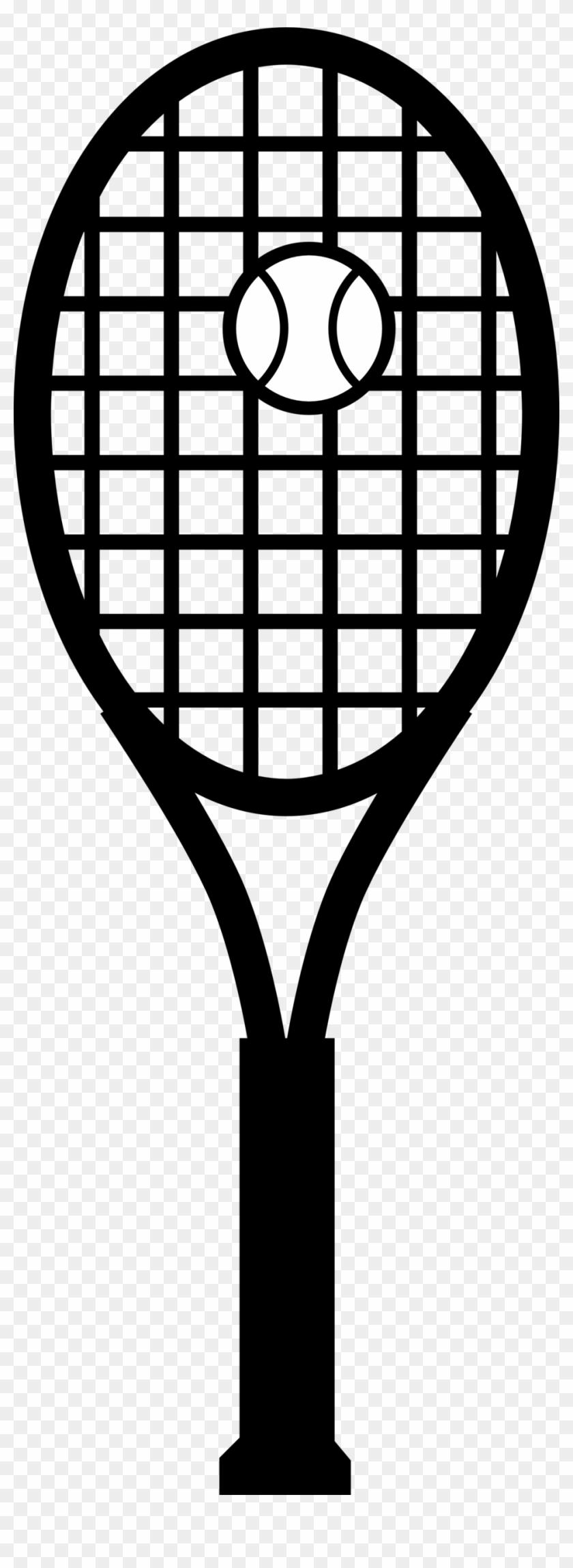 Tennis Racquet And Ball - Tennis Racket Clip Art #205561