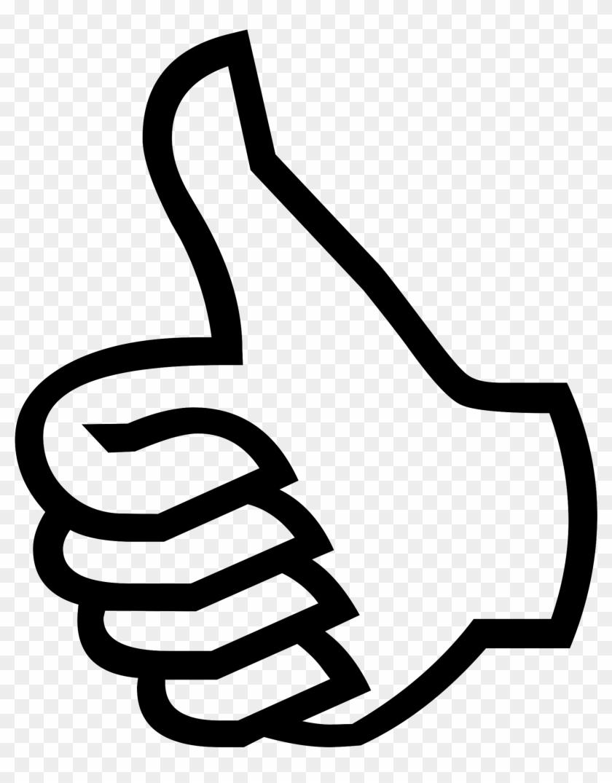 Symbol Thumbs Up Clip Art At Vector Clip Art - Thumbs Up #205645
